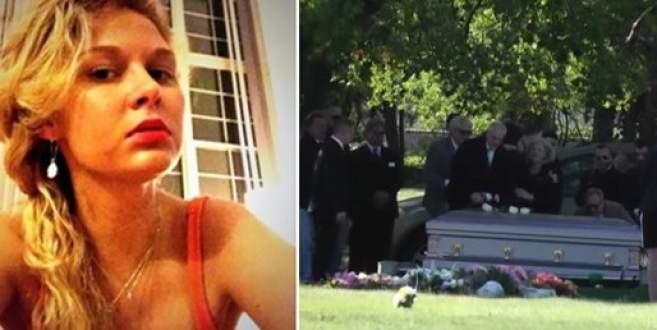 Bıçaklanarak öldürülen Dilara, son yolculuğuna uğurlandı