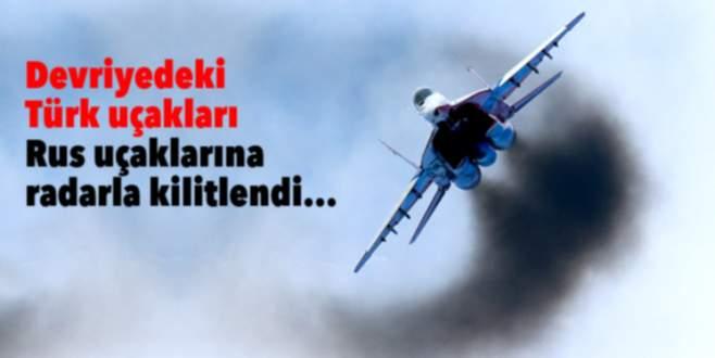 Rus-Türk jetleri karşı karşıya