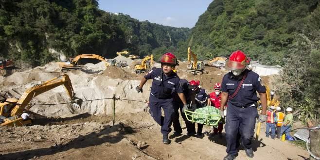 Guatemala'da heyelan: 131 ölü
