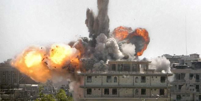 Bomba yağıyor