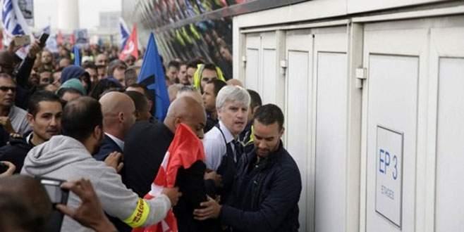 Air France'da saldırı şoku