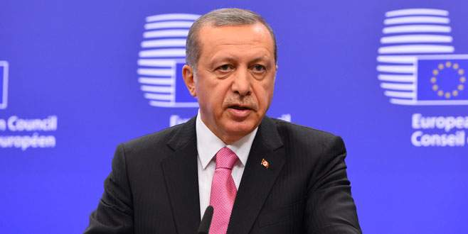 Erdoğan'dan AB'ye PKK tepkisi