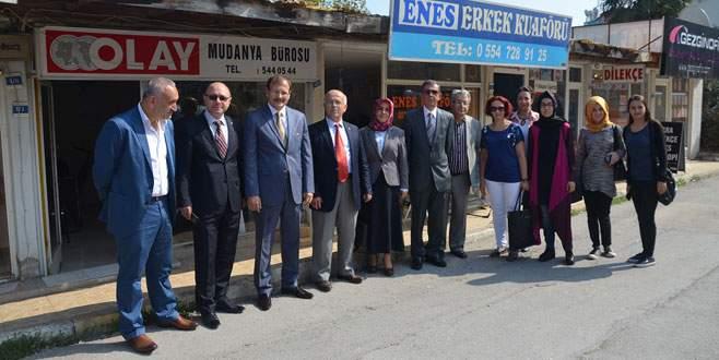 Çavuşoğlu Mudanya'da seçim startını verdi