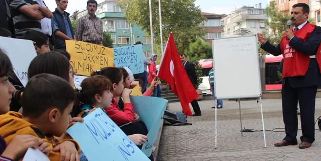'Türkmen çocukları eğitim görebilsin'