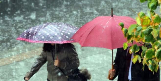 Meteoroloji uyardı: Şemsiyeleri hazırlayın!