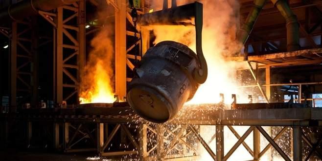 Çelik ihracatı yüzde 23 'eridi'