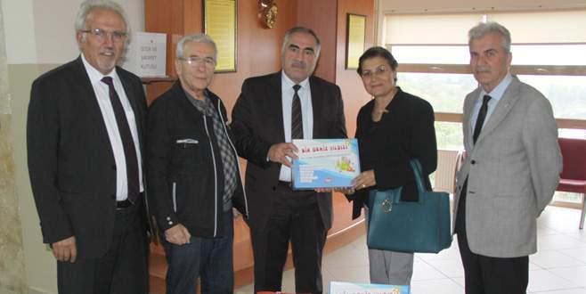 Engelsiz Yaşam Merkezi'ne İnegöl Rotary'den destek