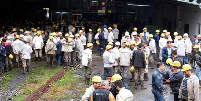 Maden ocağında yangın! İşçiler tahliye edildi