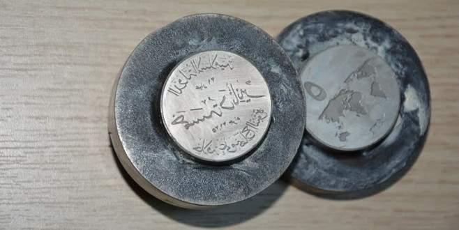 IŞİD'e ait para baskı kalıpları ele geçirildi