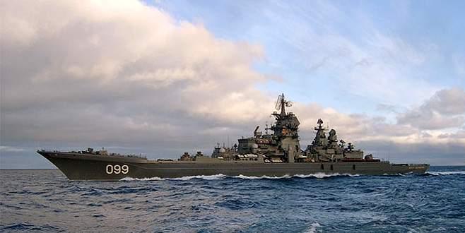 Rusya Hazar Denizi'nden vurdu