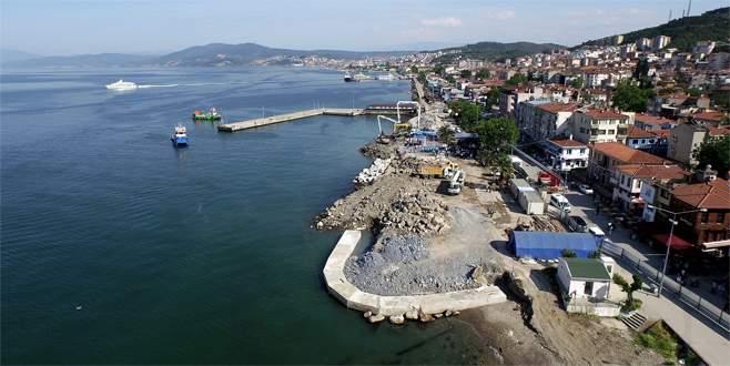Mudanya Sahil Projesi, kaldığı yerden devam edecek