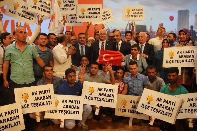 Barajların Mimarı Mehmet Erdoğan'a Sevgi Seli