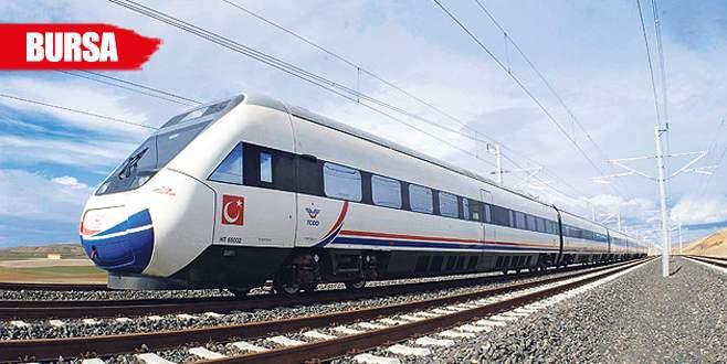 Hızlı tren istasyonlarının 2'si Yenişehir'e