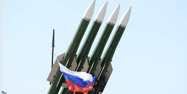 Rus füzelerinin İran'a düştüğü iddia edildi