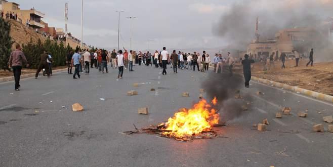 Barzani'ye protesto