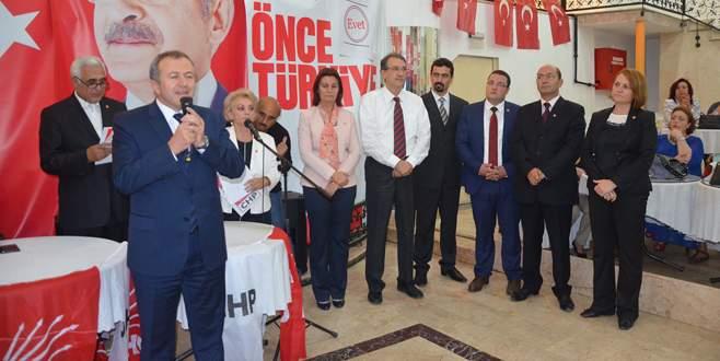 CHP Mudanya'da seçim startını verdi