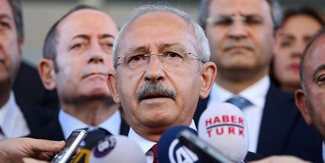 Kılıçdaroğlu programlarını iptal etti