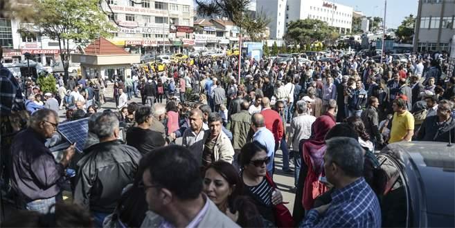 Vatandaş Ankara'daki hastanelere akın etti!