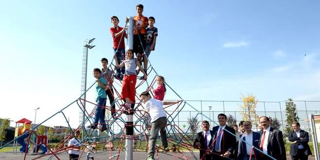Panayır Spor Tesisleri açıldı