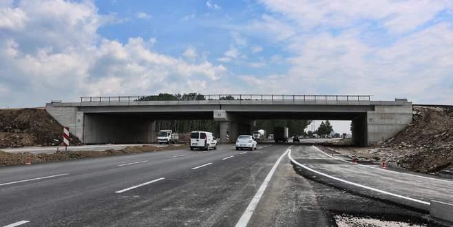 Bursalılar dikkat! Doğu Yakın Çevre Yolu'nda trafik düzenlemesi