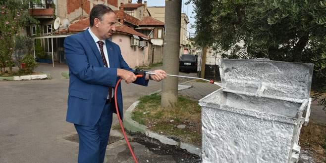 Mustafakemalpaşa'ya 400 çöp konteynırı