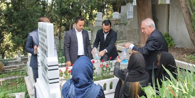 Ali Osman Sönmez mezarı başında anıldı