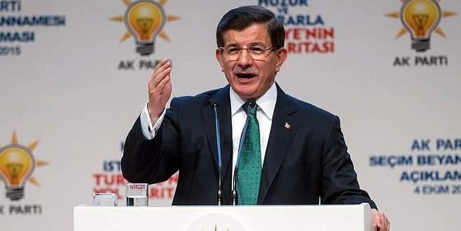 Davutoğlu cuma günü Bursa'da
