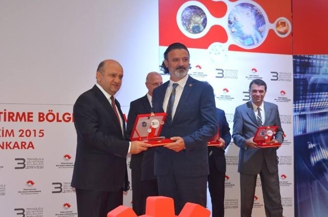 Mersin Teknopark'a 2'ncilik Ödülü
