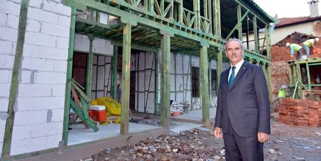 Bursa'da iki asırlık tarih canlanıyor