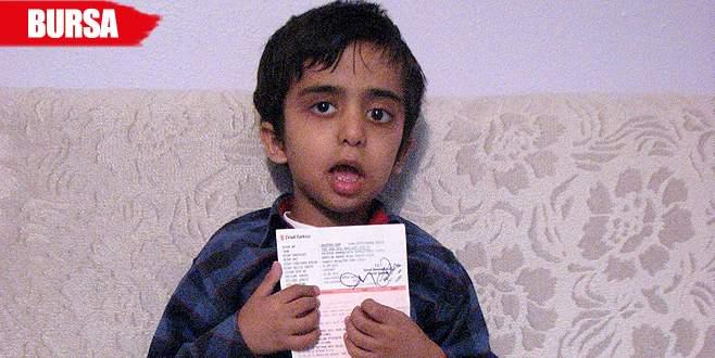 Abdullah'ın ameliyatı için gerekli olan 33 bin lira toplandı