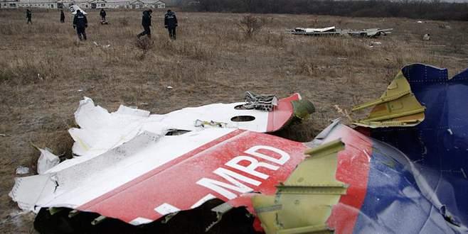 Yolcu uçağı füzeyle vurulmuş!
