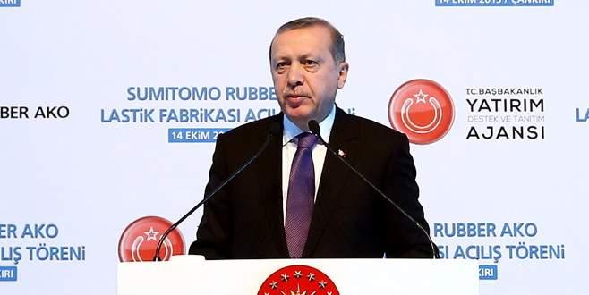 Erdoğan: 'PKK'yı parlatmak için adeta kırk takla atıyorlar'