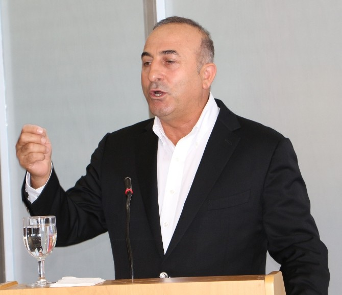 AK Parti Genel Başkan Yardımcısı Mevlüt Çavuşoğlu: