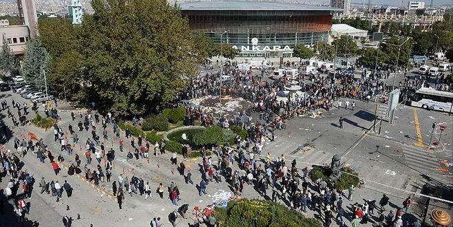 Ankara'daki terör saldırısıyla ilgili 11 kişi gözaltında