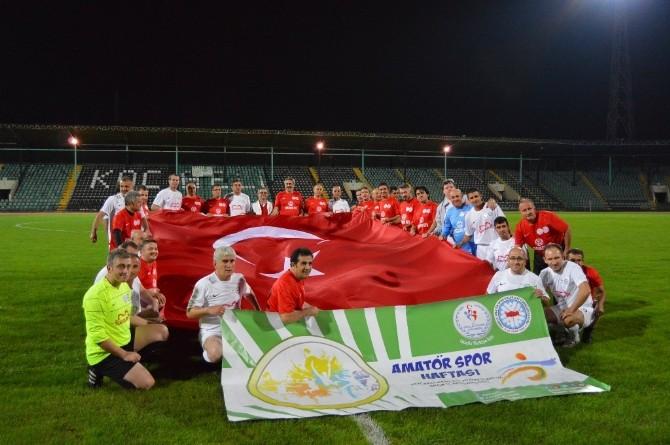 Amatör Spor Haftası Kocaeli'de Şöhretler Karması İle Başladı