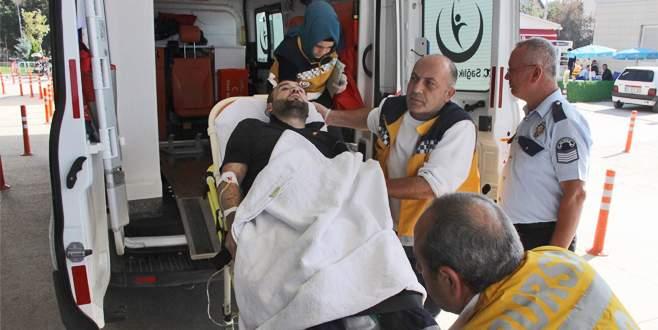 Bursa'da korkunç iş kazası: Elini bileğinden itibaren kaybetti