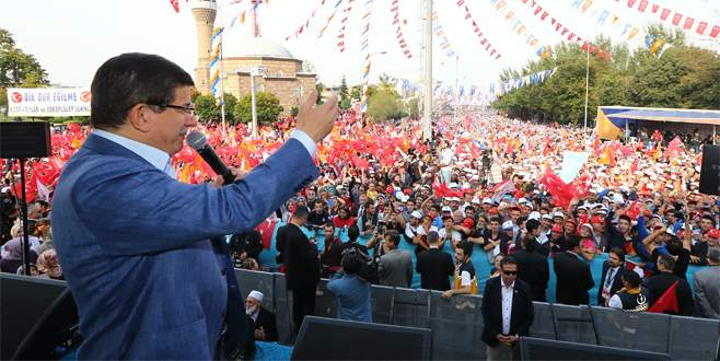 Davutoğlu: 'Bursa bizim ruhumuzun sembolü'