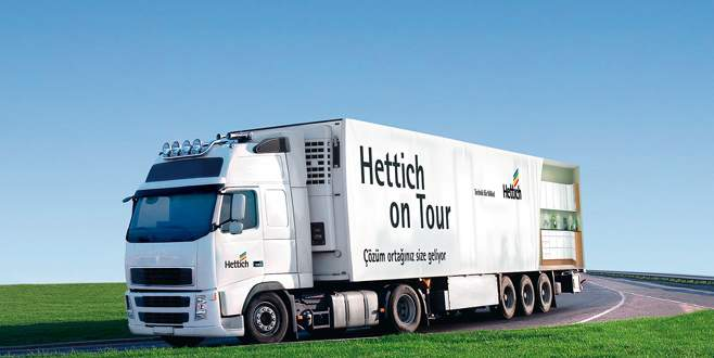 Hettich'ten mobil showroom