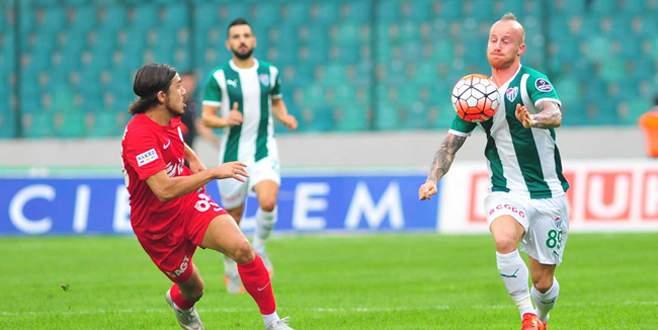 Bursaspor 0-2 Antalyaspor (Maç Sonucu)