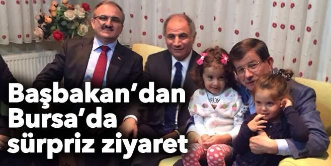 Başbakan'ın akşam sürprizi: Yıldırım'da ev ziyareti yaptı!