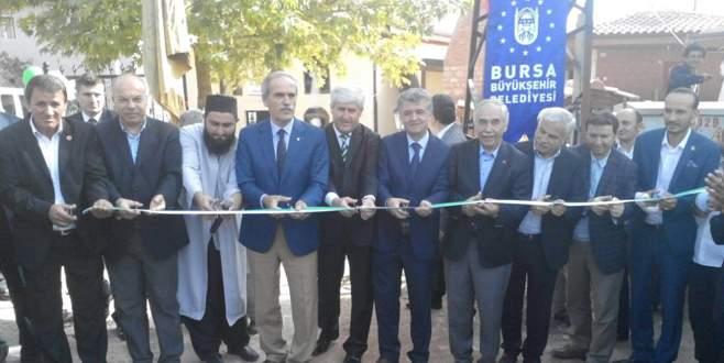 Kemaliye Köyü camii restore edildi