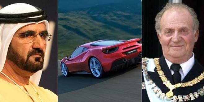 İspanya eski Kralı Carlos un Ferrarileri satılıyor