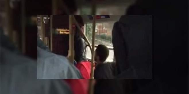 Türk yolcuya otobüste İslamofobik saldırı