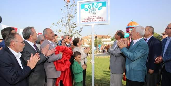 Şehit Yarbay Çelikcan'ın adı Bursa'da yaşayacak
