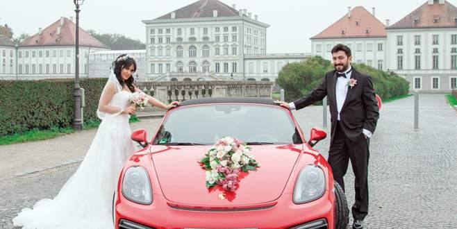 Almanya'da yıldırım nikahı