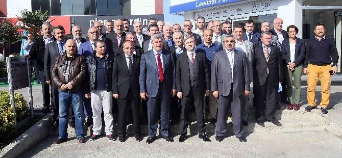 MOBESKO Esnafı, Başkan Karaosmanoğlu'nu Ağırladı