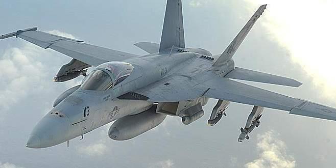 İngiltere'de ABD savaş uçağı düştü