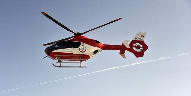 Gece uçuşlu ambulans helikopterler geliyor