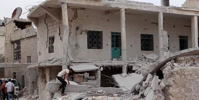 Esad güçleri Türkmen bölgesine saldırdı