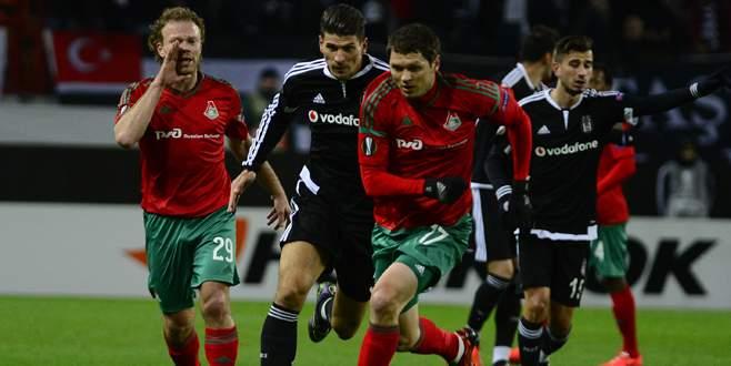 Lokomotiv Moskova 1-1 Beşiktaş